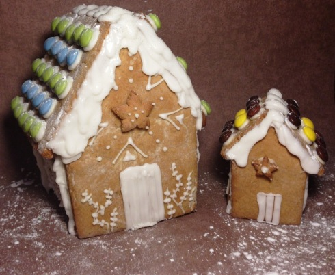 gingerbread houses for christmas star front door smartie roof