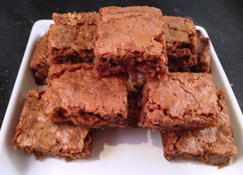 belgian chocolate brownie squares recipe