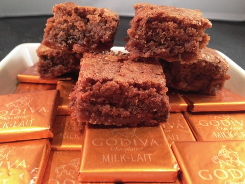 godiva belgian chocolate brownies recipe crispy top sticky middle