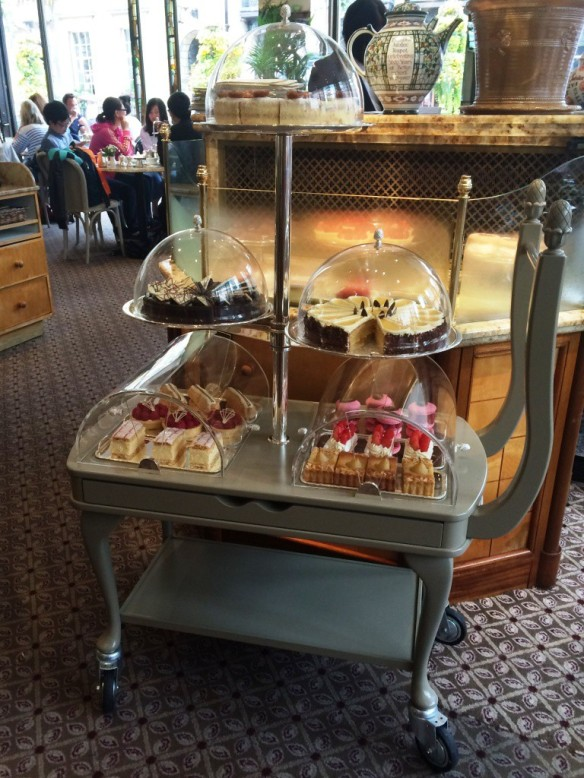 cake trolley at bettys tea room cafe york