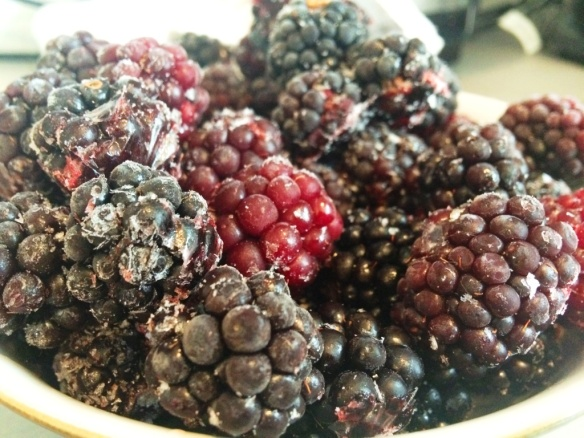 fresh british blackberries flash frozen bread recipe