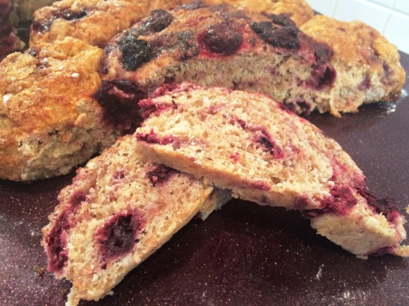 fresh british blackberrys baked into apple bread gbbo greatbloggersbakeoff2014