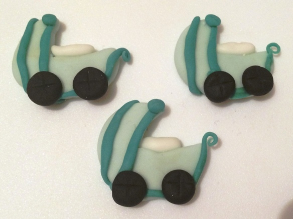 baby prams puschairs strollers ideas for handmade baby shower gifts cupcake toppers