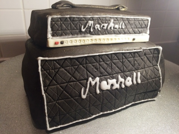 marshall amp stack birthday cake guitar lover ideas