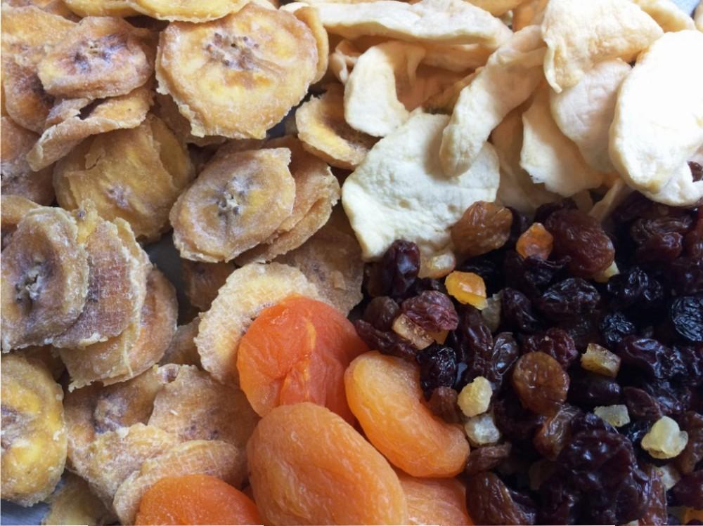 dried fruit for gluten free cake recipe banana apples apricots raisins